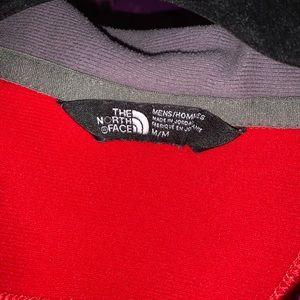 Men medium North Face pullover.